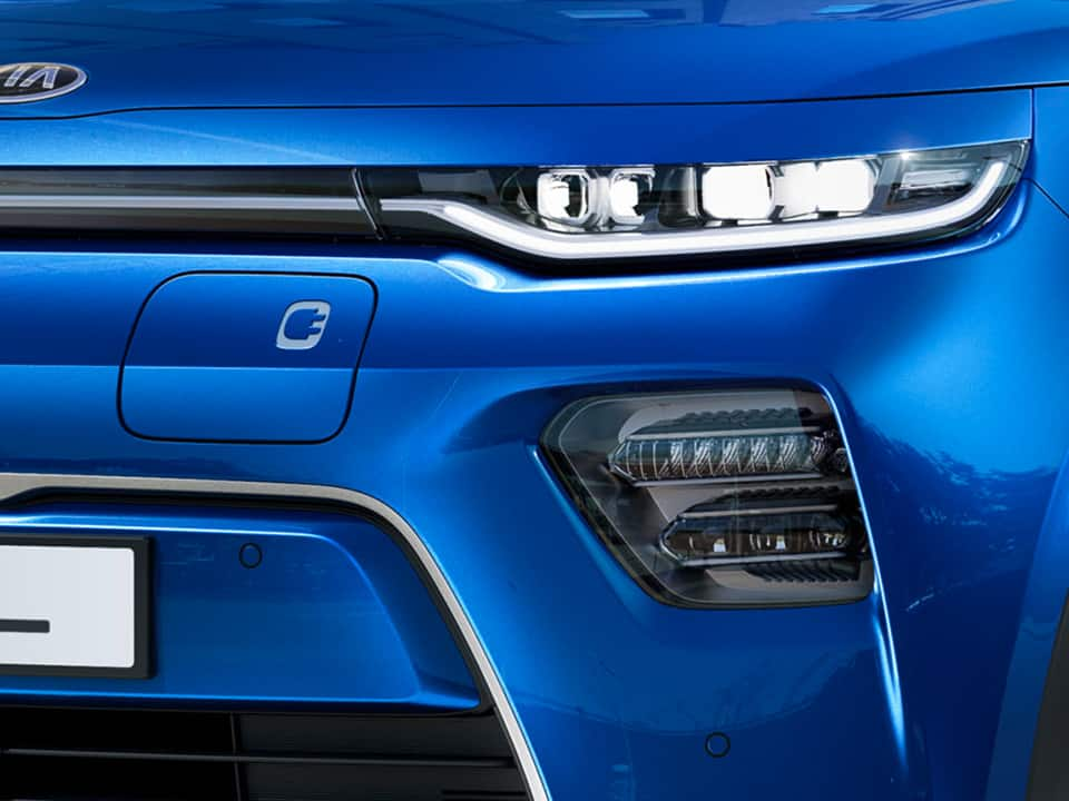Kia e-Soul lights